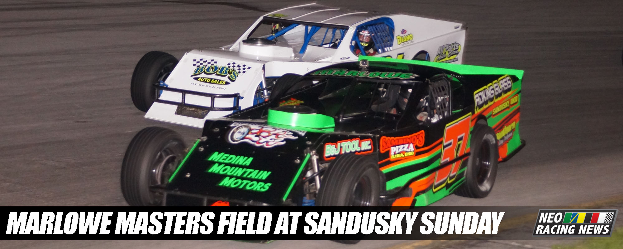 PHOTOS: $1,000 to Win Modified Feature @ Sandusky Speedway